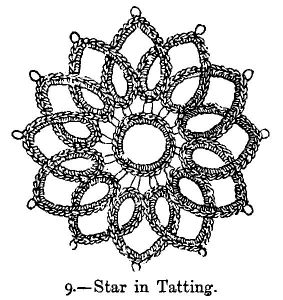 Star in Tatting.