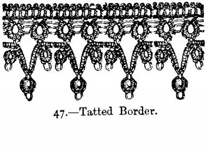 Tatted Border.