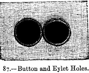 Button and Eyelet Holes.