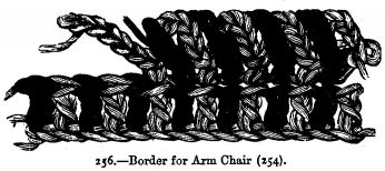Border for Arm Chair (254).
