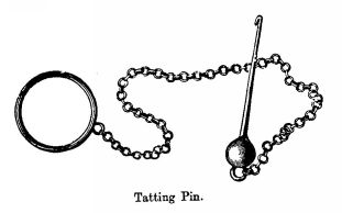 Tatting pin
